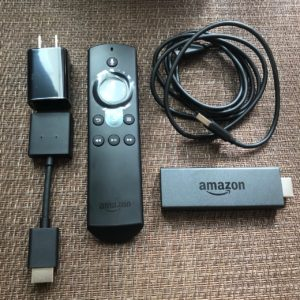 fire tv stick内容物