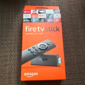 fire tv stick箱